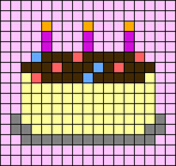 Alpha pattern #60599