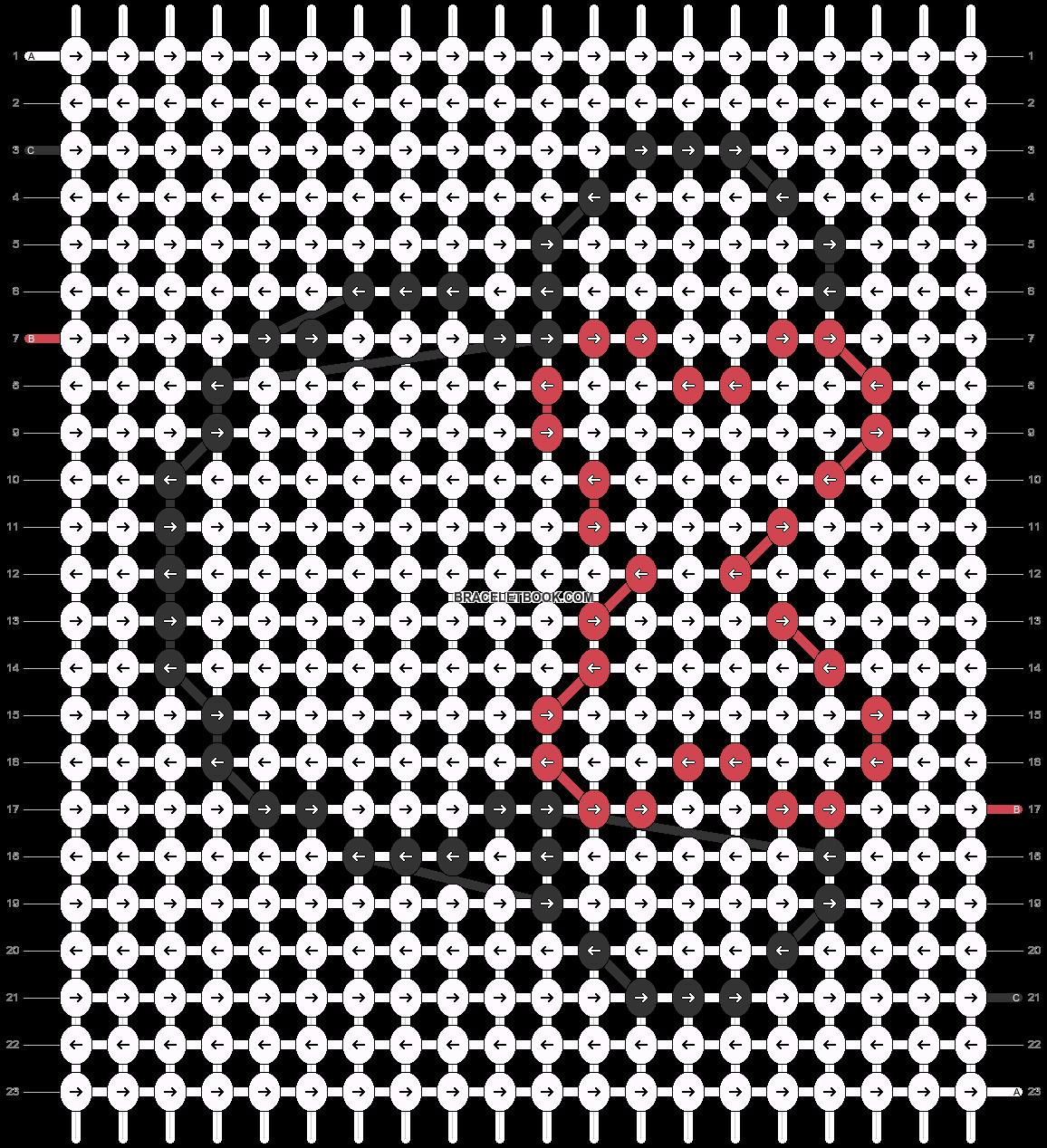 Alpha pattern #60607 pattern