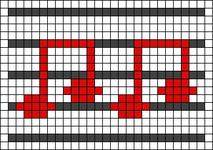 Alpha pattern #60641