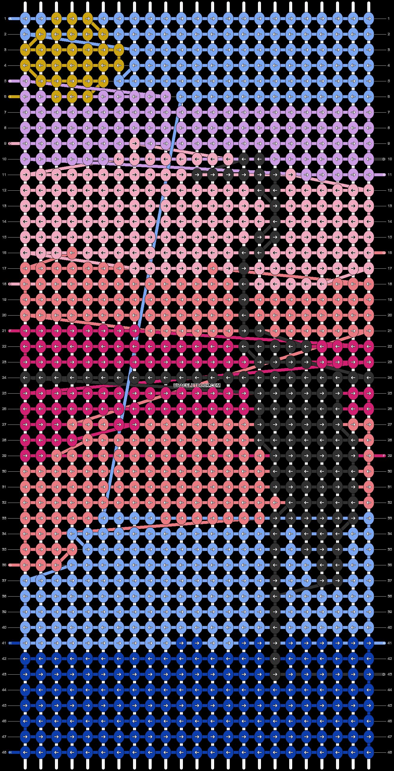 Alpha pattern #60653 pattern