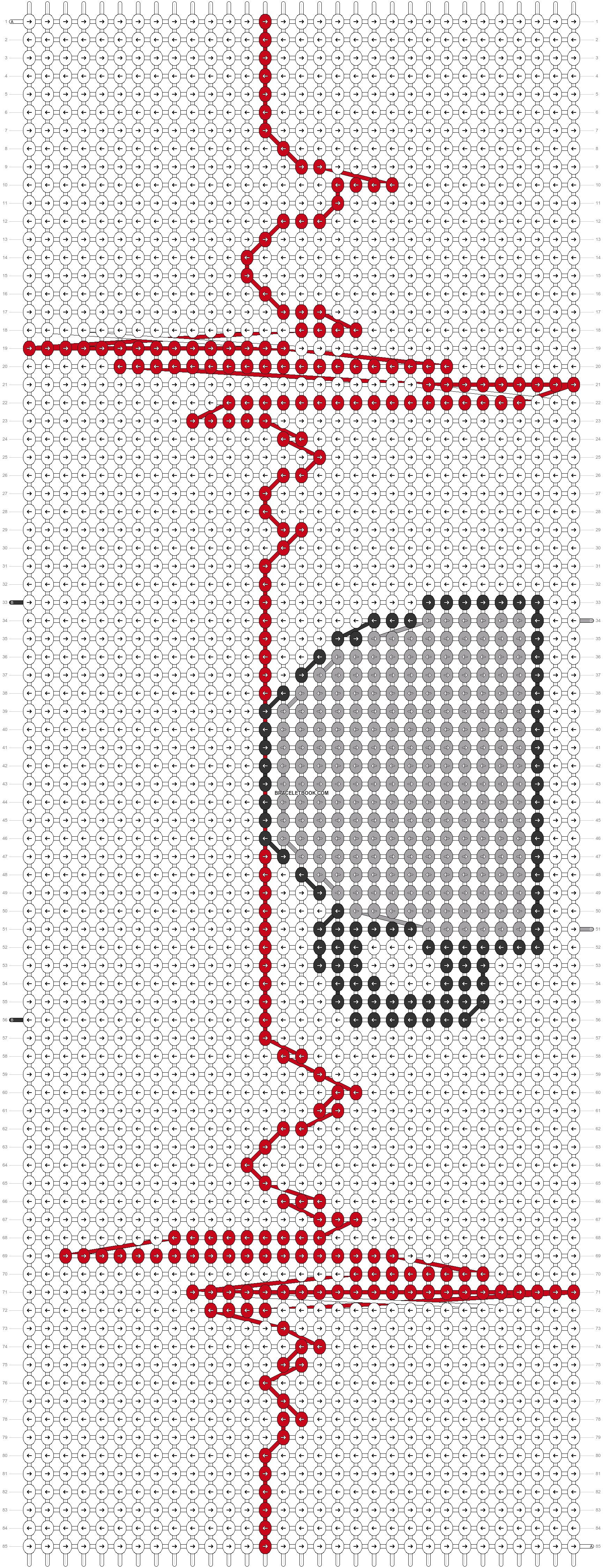 Alpha pattern #60655 pattern