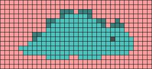 Alpha pattern #60668