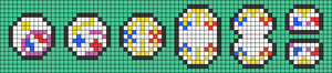 Alpha pattern #60671