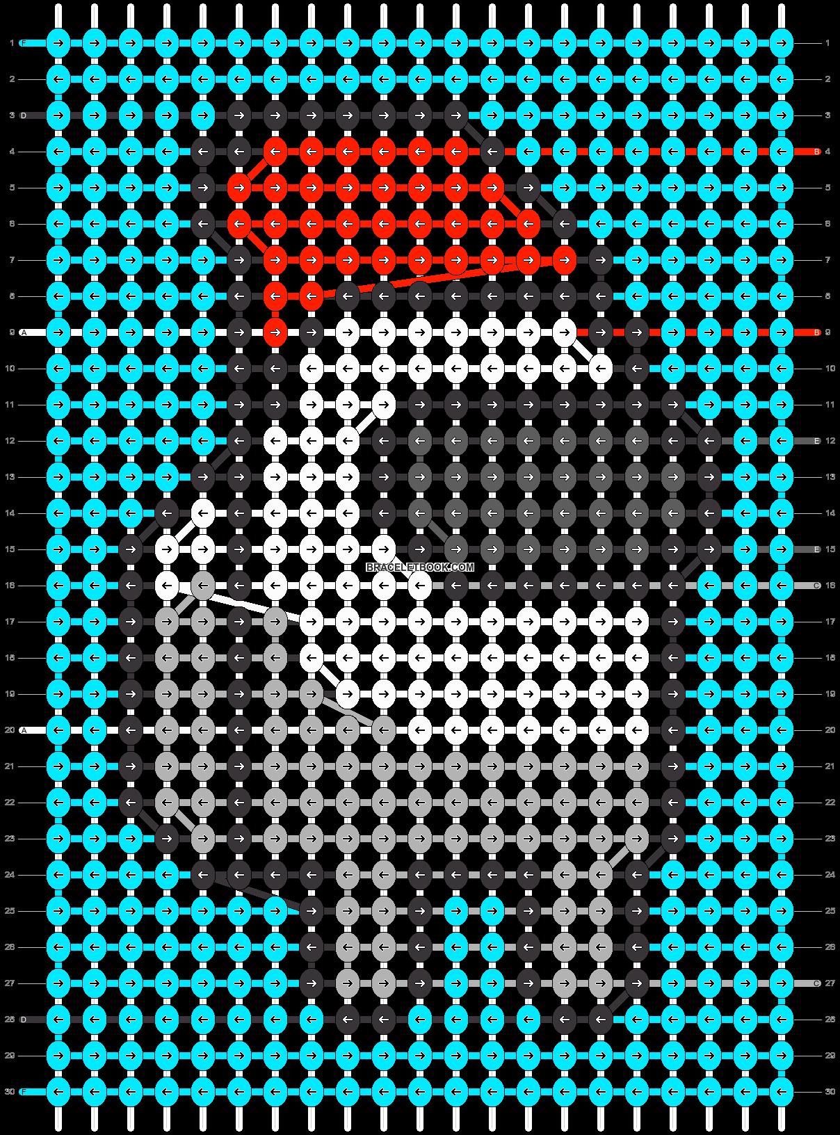 Alpha pattern #60674 pattern