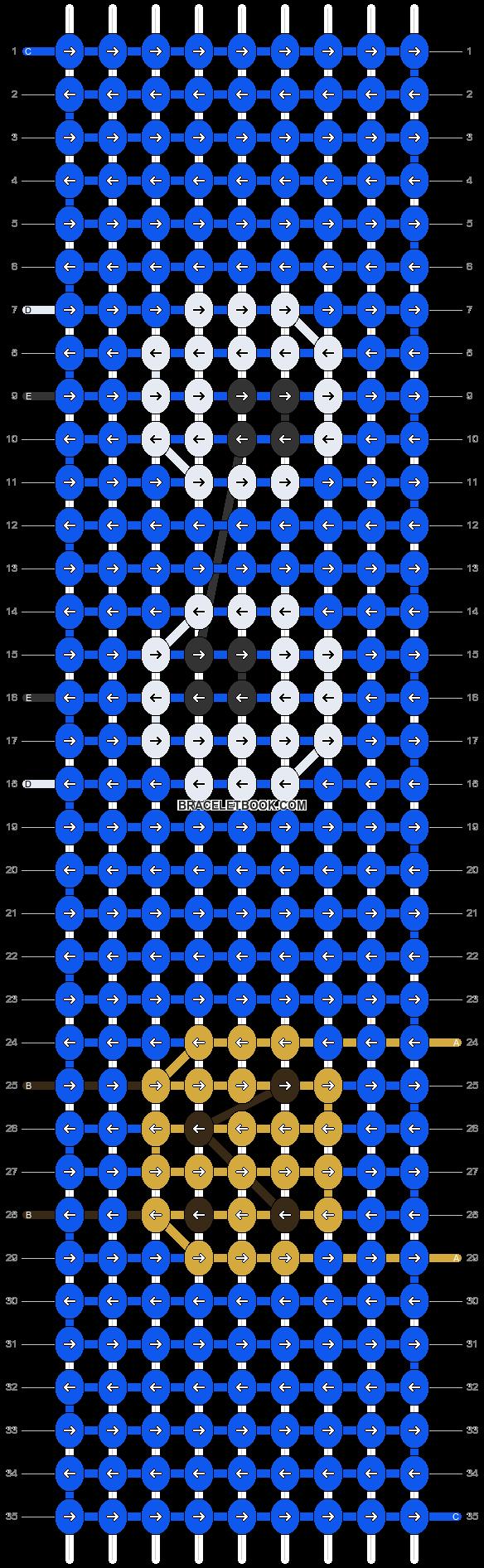 Alpha pattern #60746 pattern