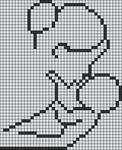 Alpha pattern #60783