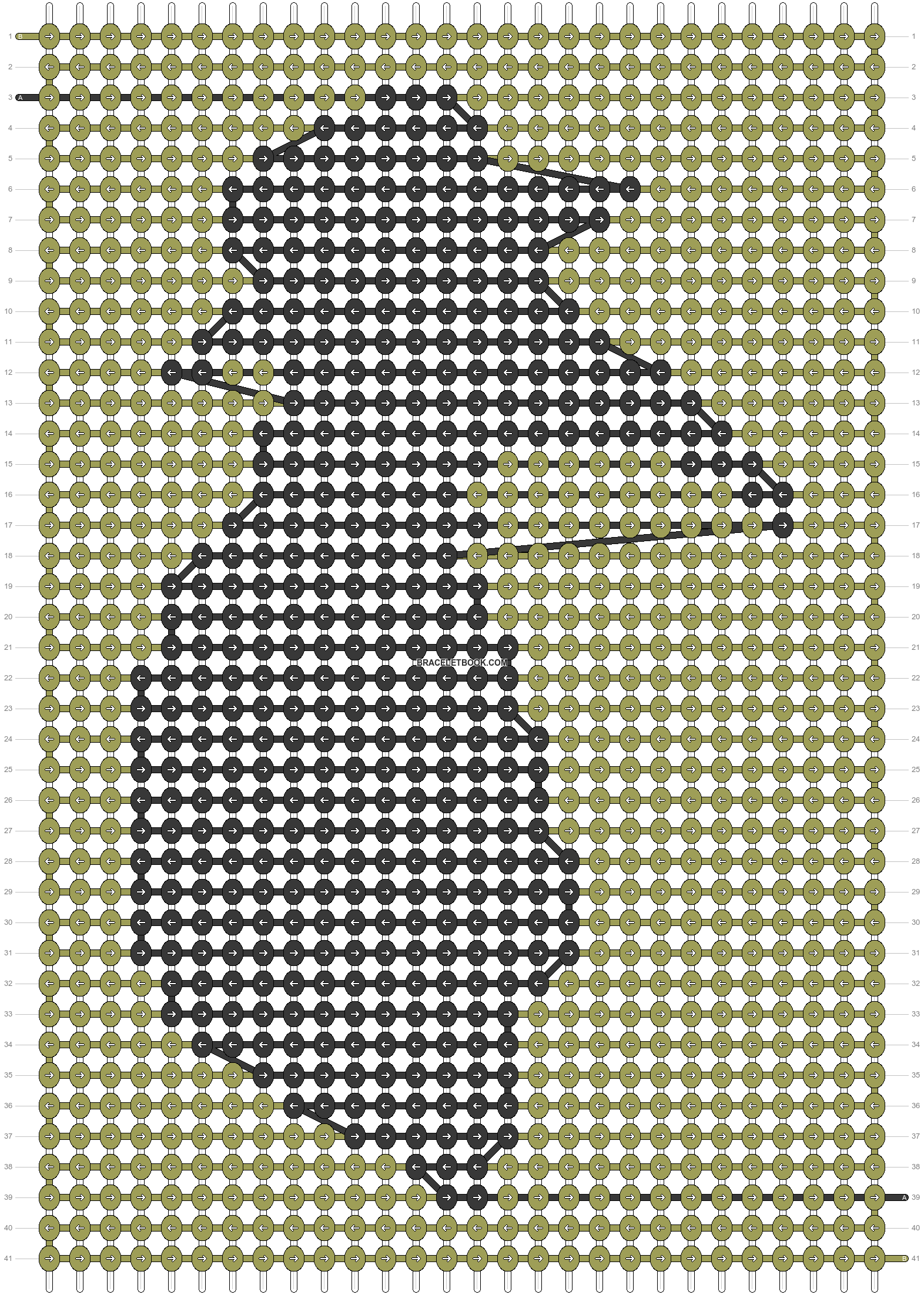 Alpha pattern #60800 pattern