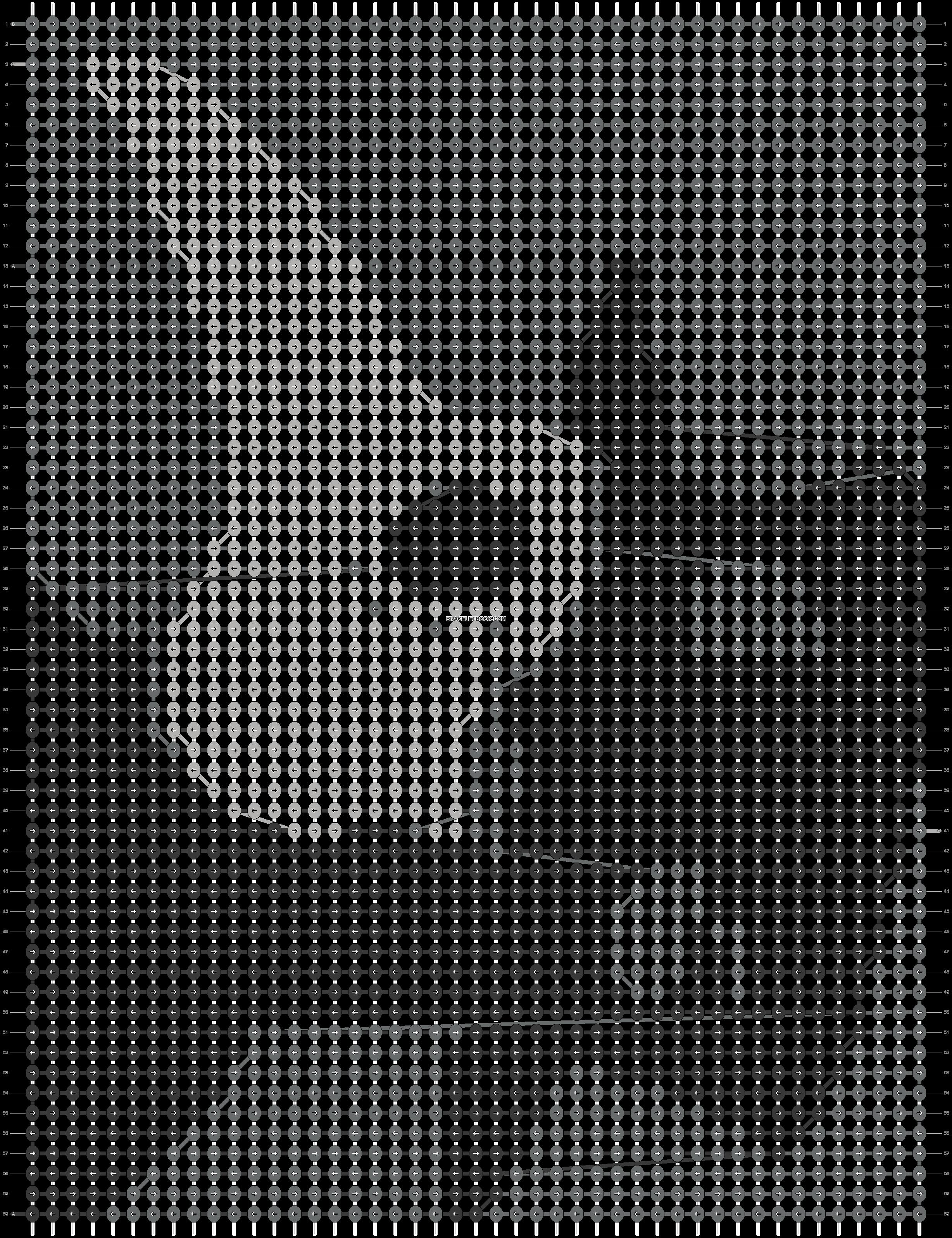 Alpha pattern #60801 pattern