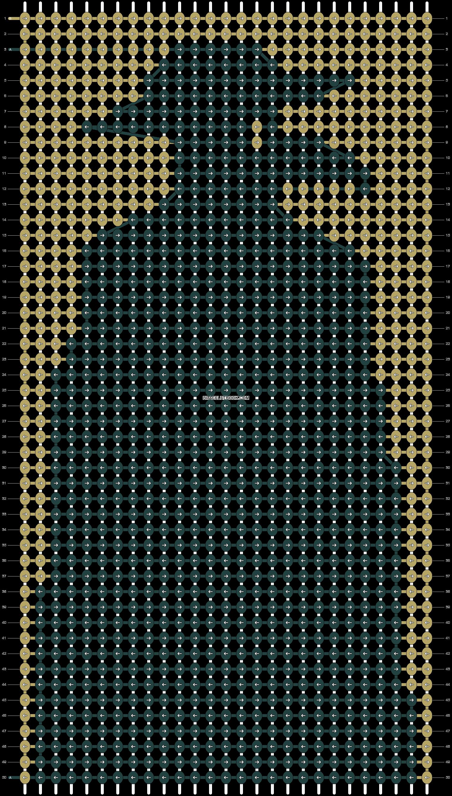 Alpha pattern #60808 pattern
