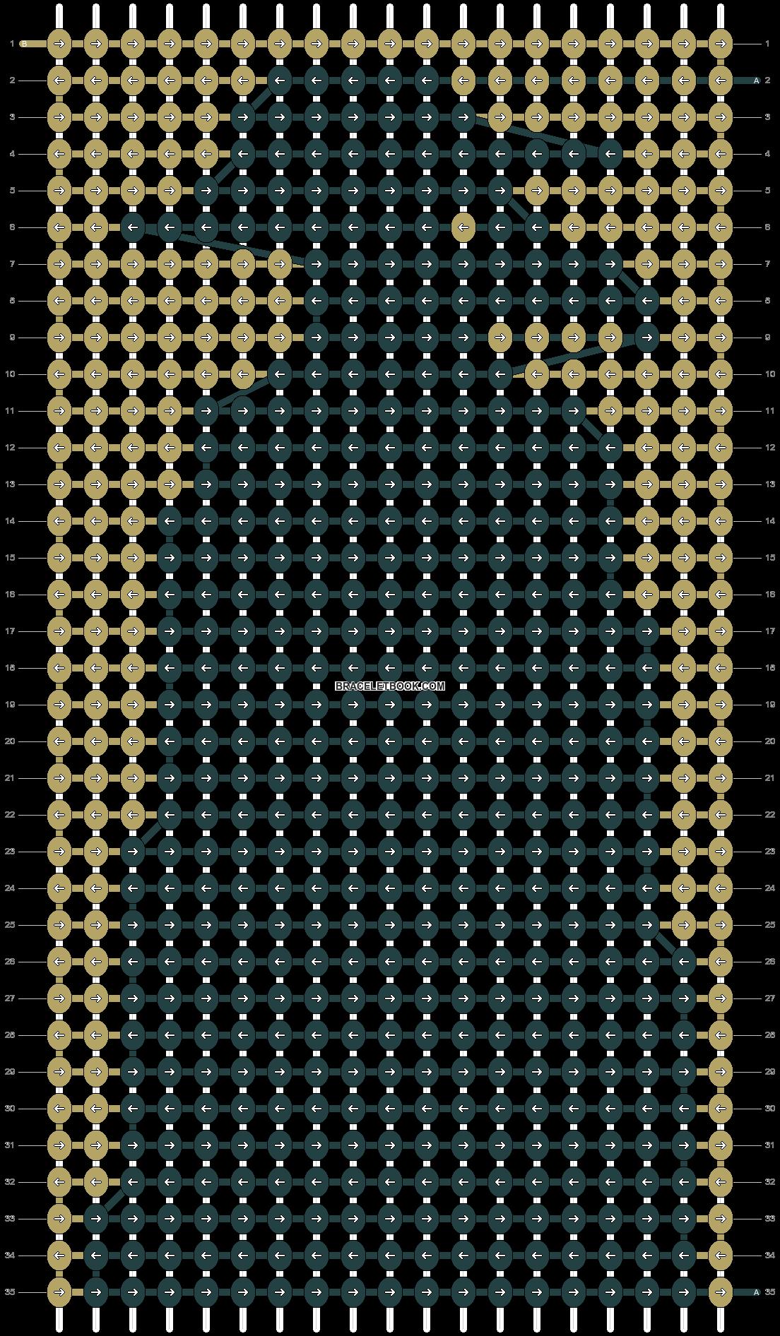 Alpha pattern #60809 pattern