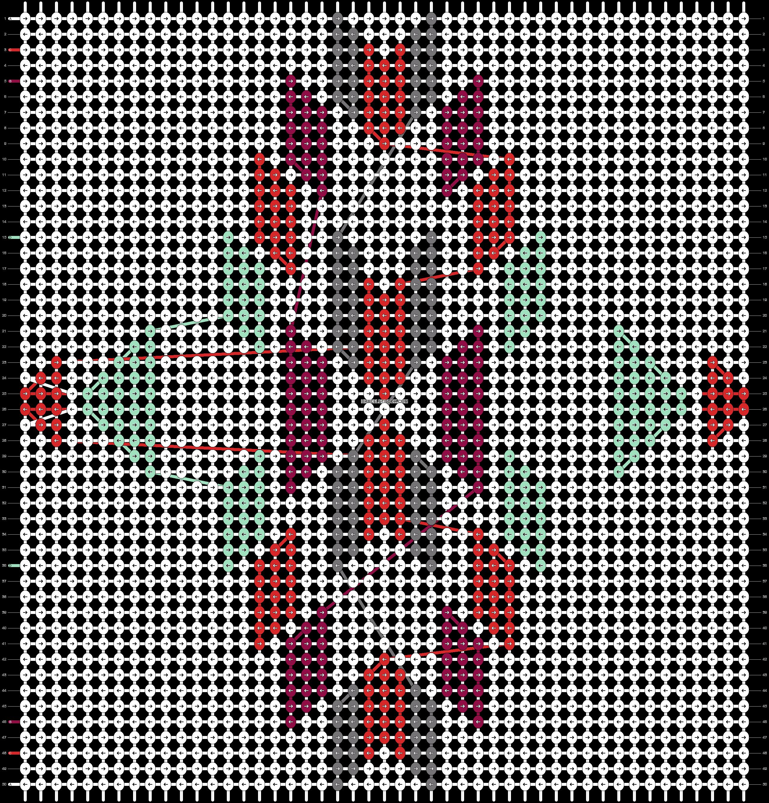 Alpha pattern #60862 pattern