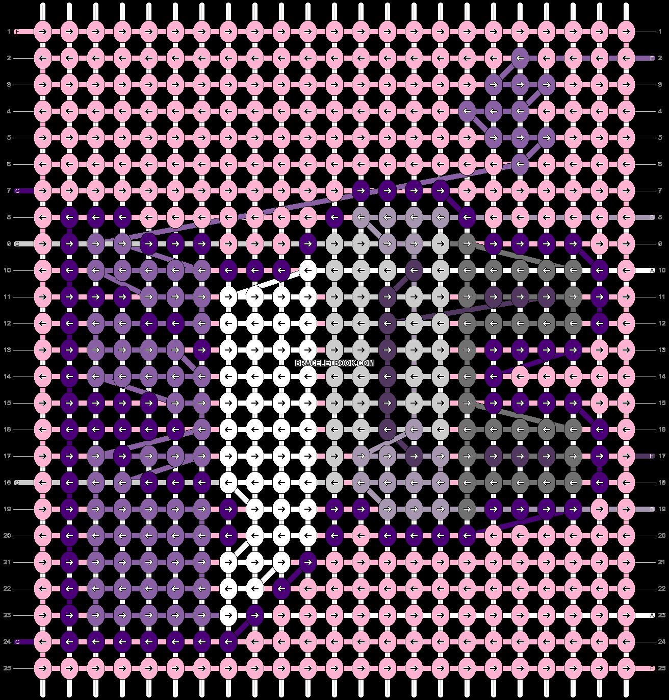 Alpha pattern #60875 pattern