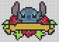 Alpha pattern #60876