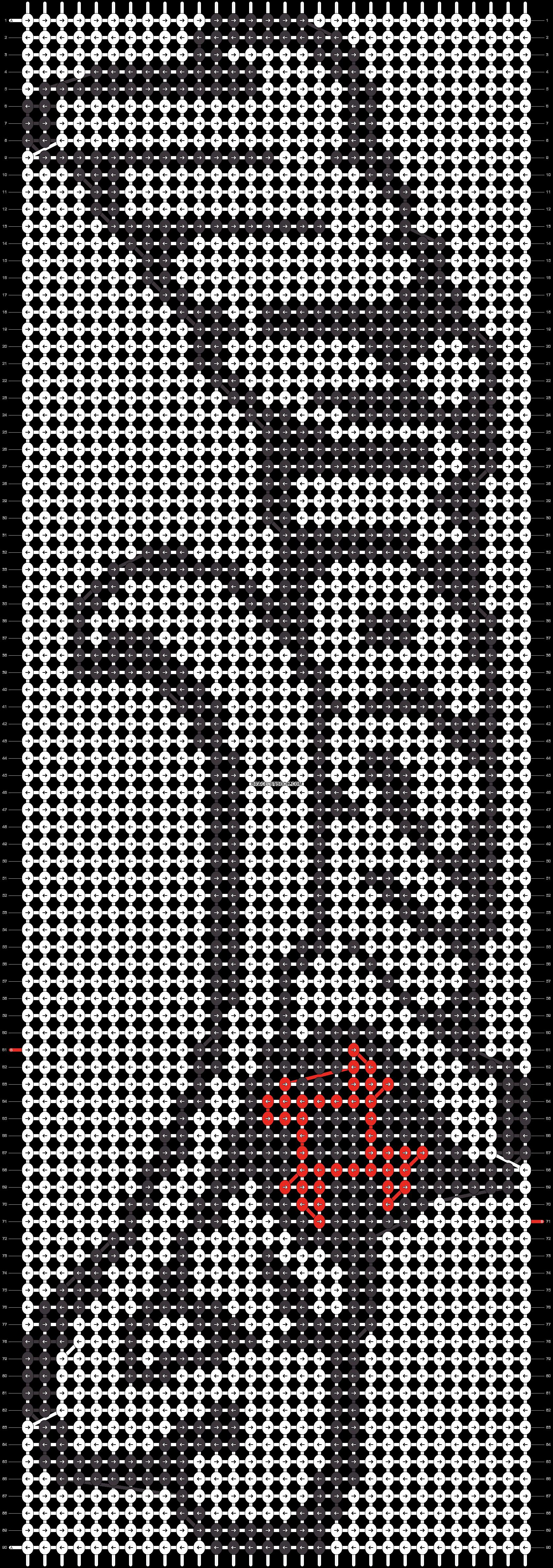 Alpha pattern #60881 pattern