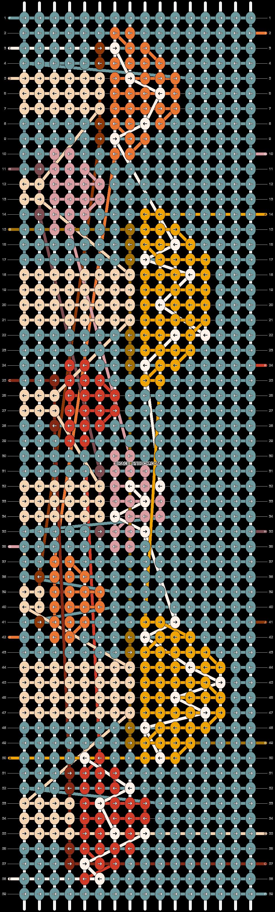Alpha pattern #60914 pattern