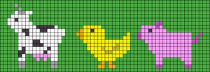 Alpha pattern #60916