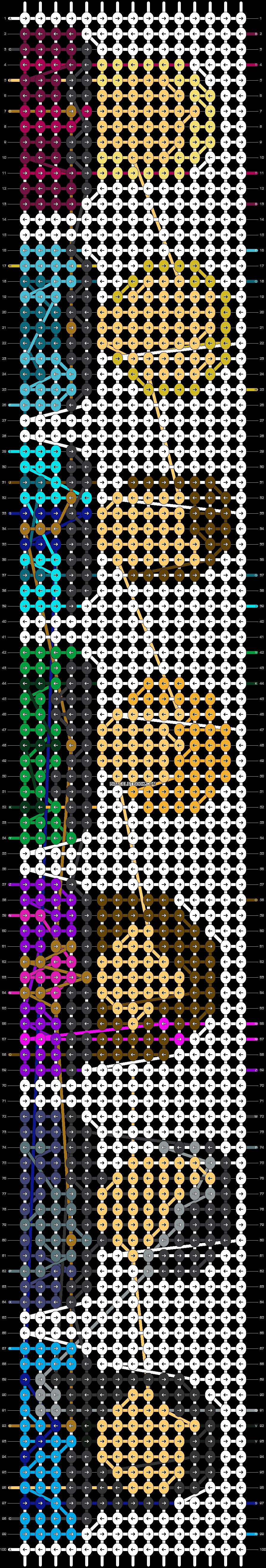 Alpha pattern #60967 pattern