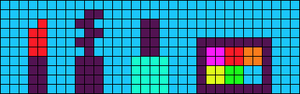 Alpha pattern #61019