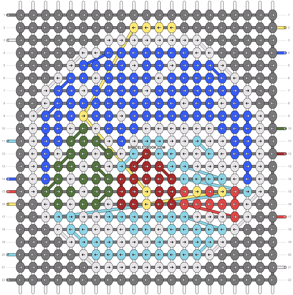 Alpha pattern #61027 pattern