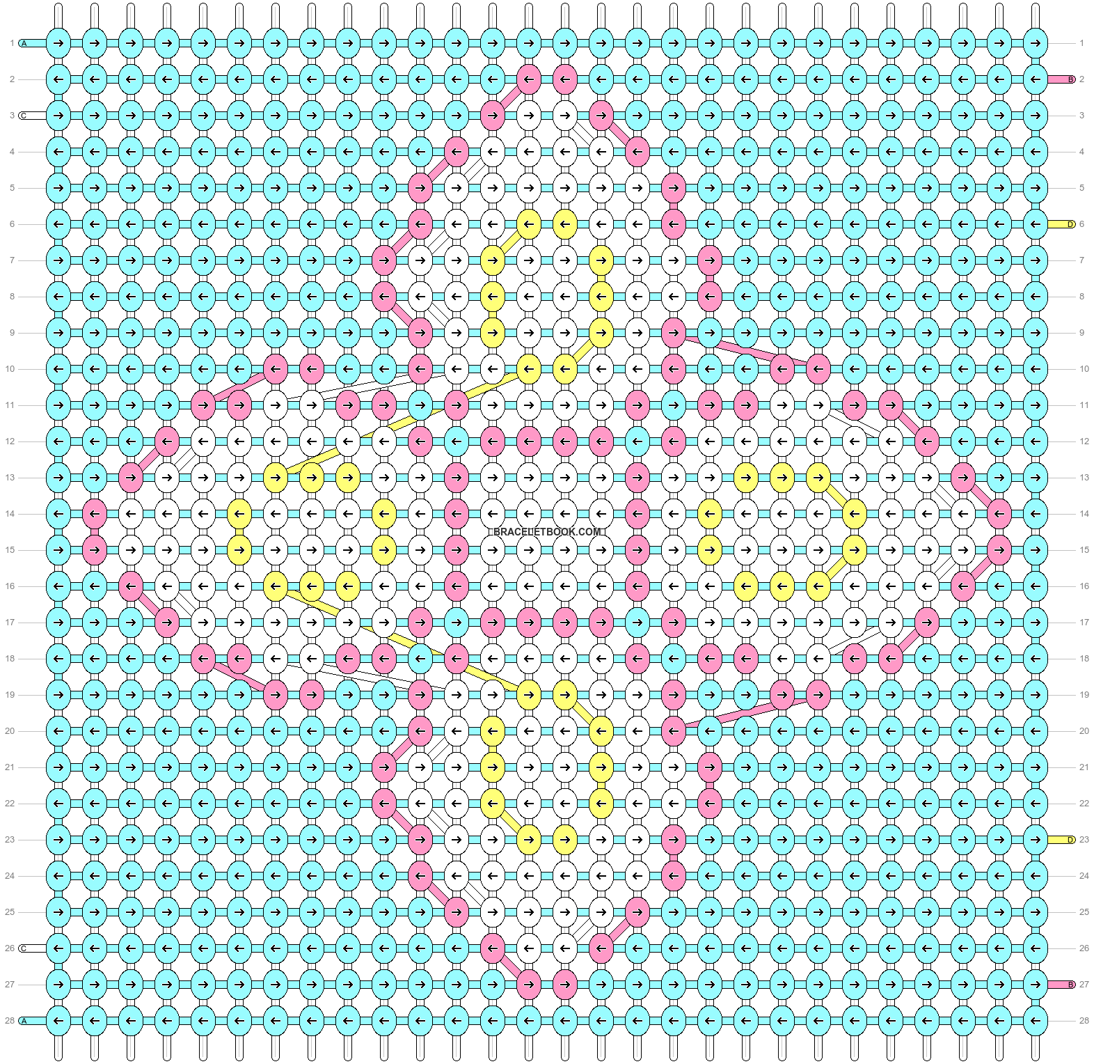 Alpha pattern #61089 pattern
