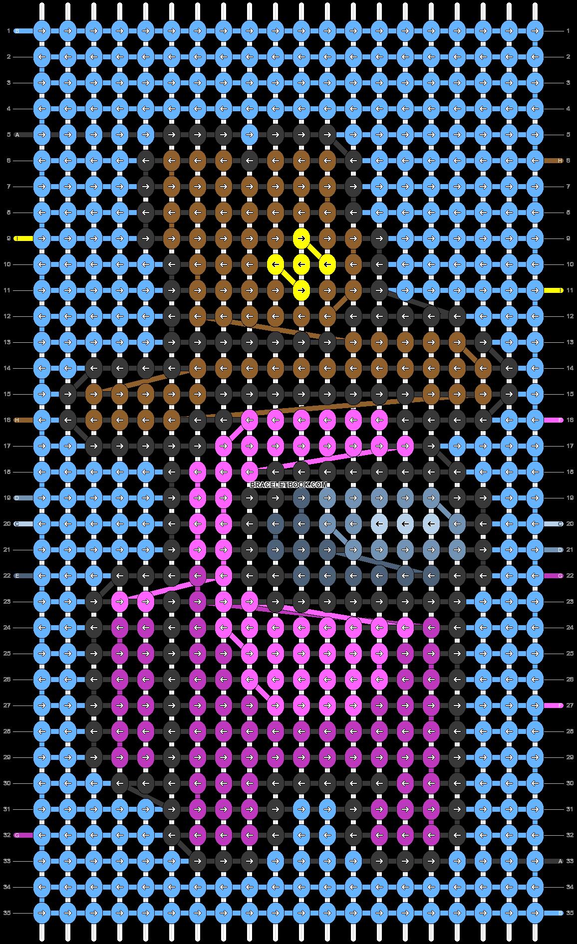 Alpha pattern #61095 pattern