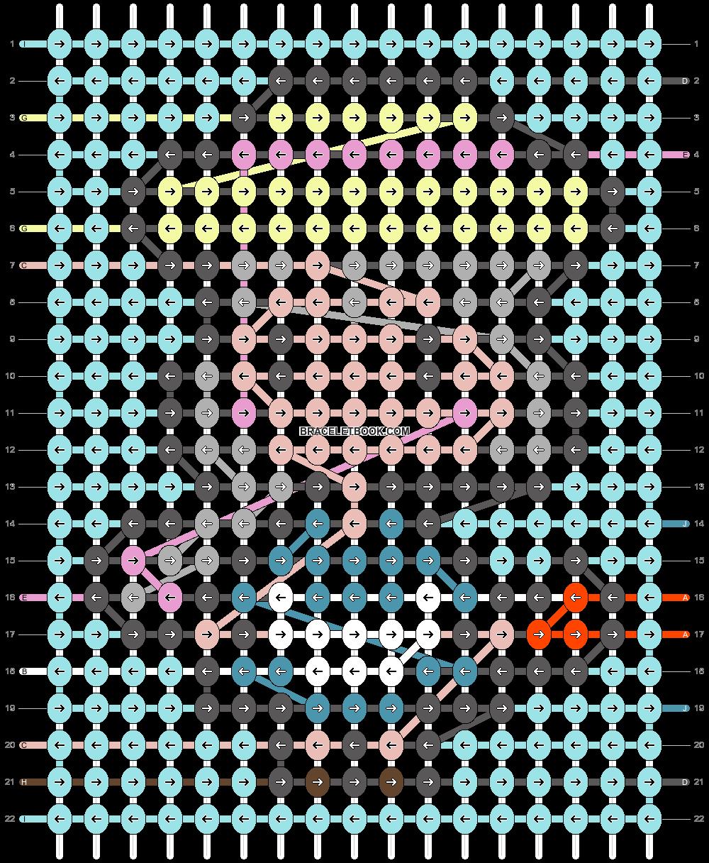 Alpha pattern #61113 pattern