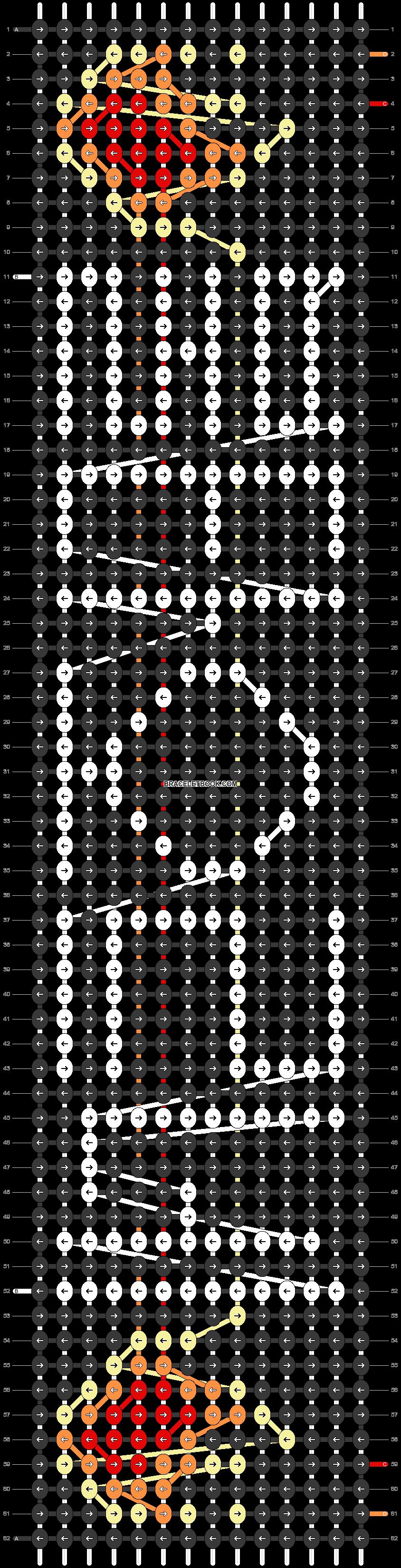 Alpha pattern #61118 pattern