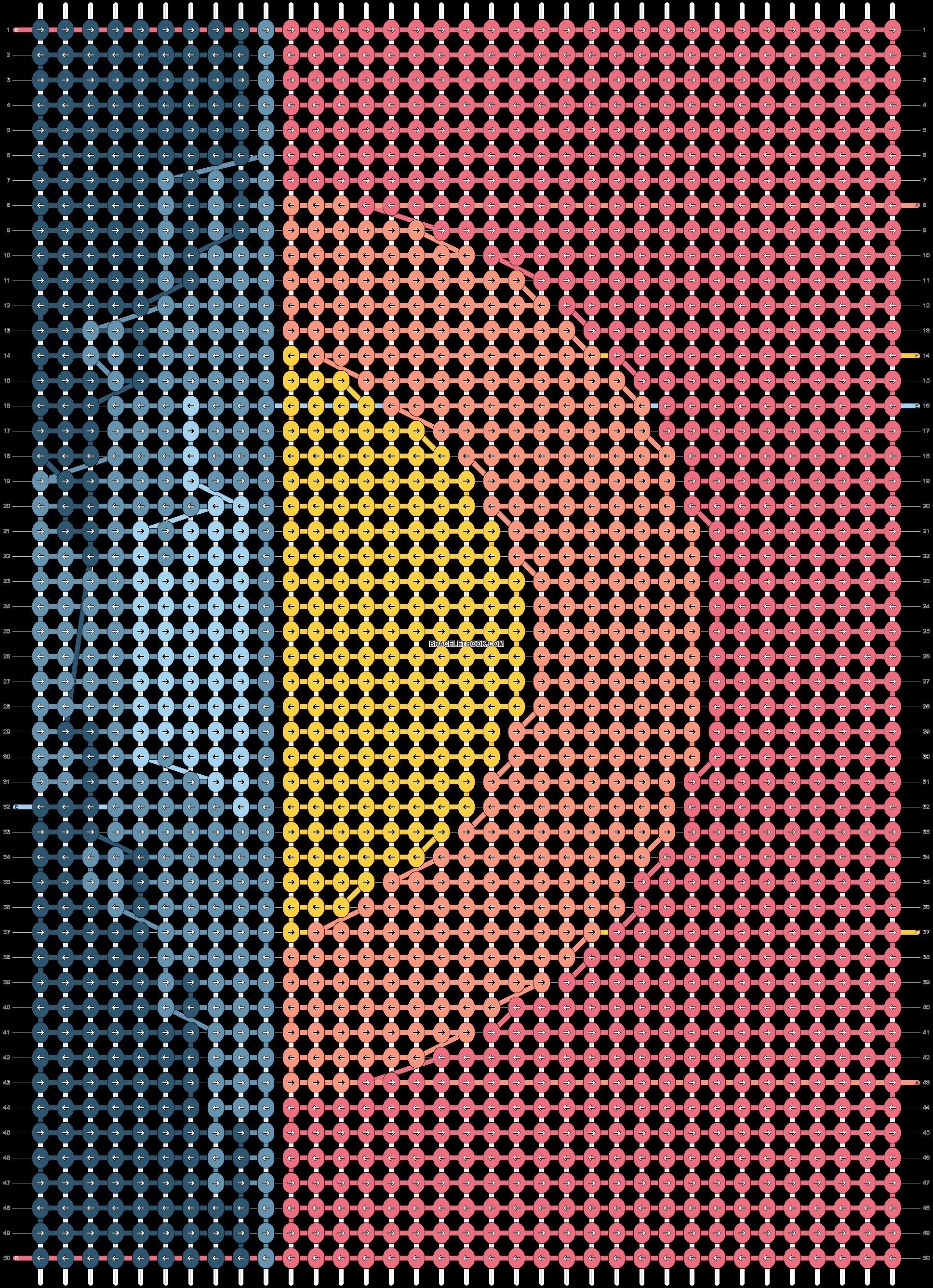 Alpha pattern #61123 pattern