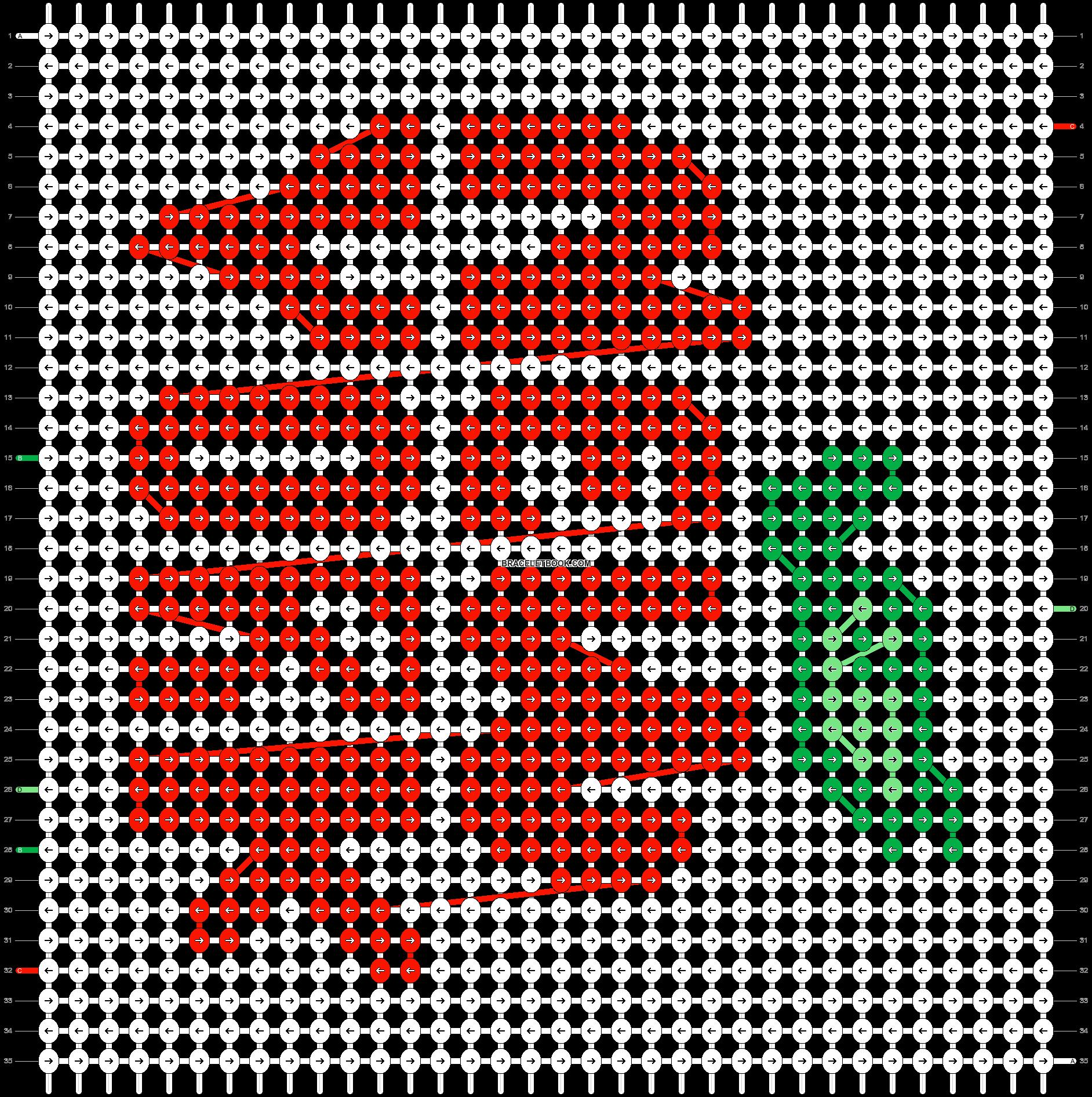 Alpha pattern #61189 pattern