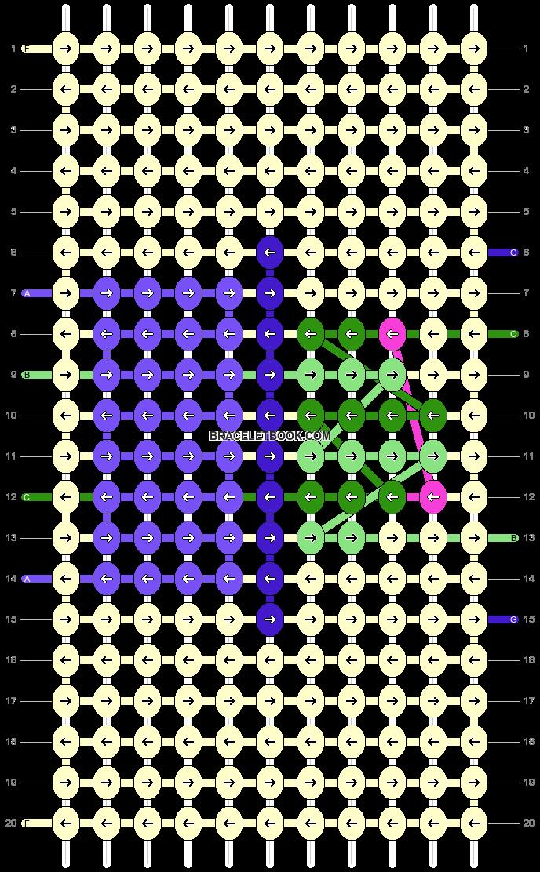 Alpha pattern #61202 pattern