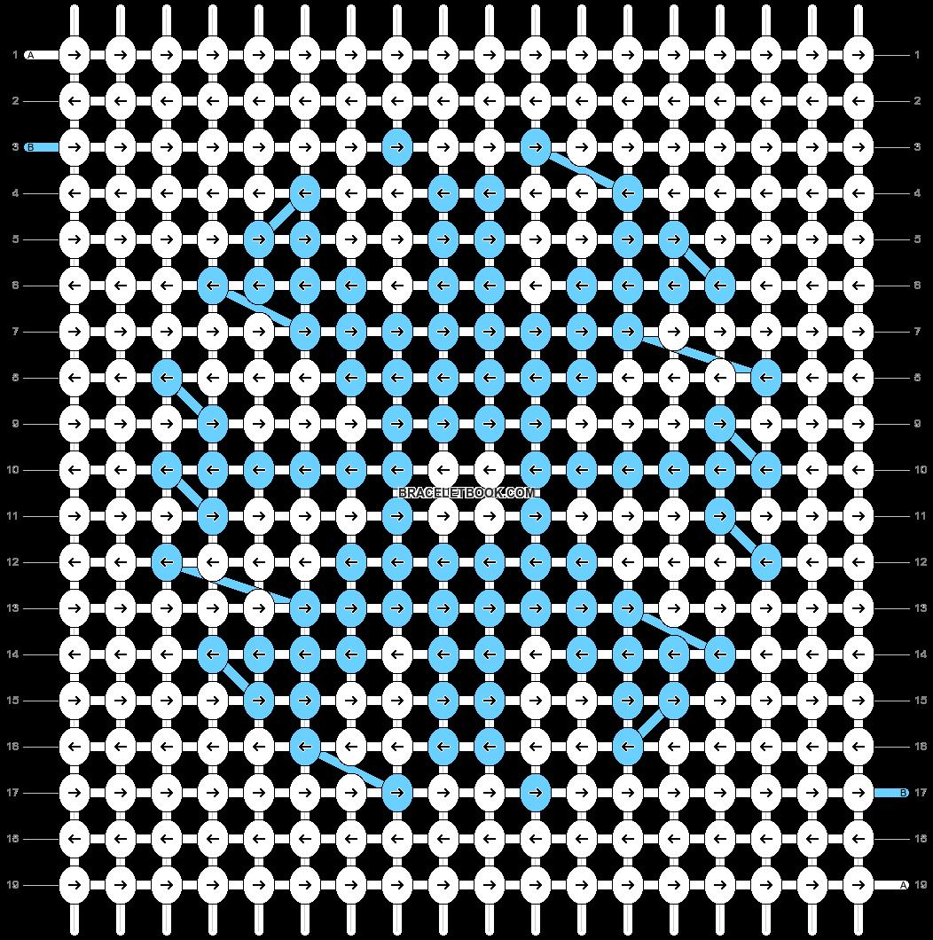 Alpha pattern #61242 pattern