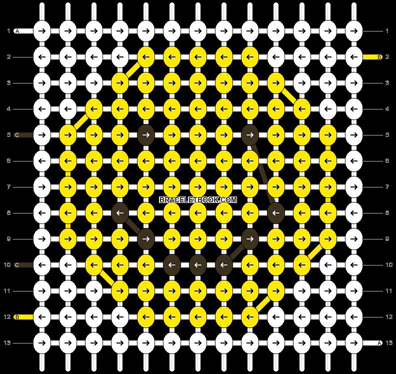 Alpha pattern #61442 pattern