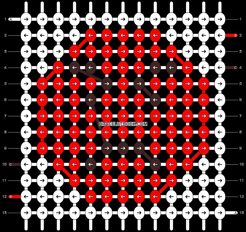 Alpha pattern #61443 pattern