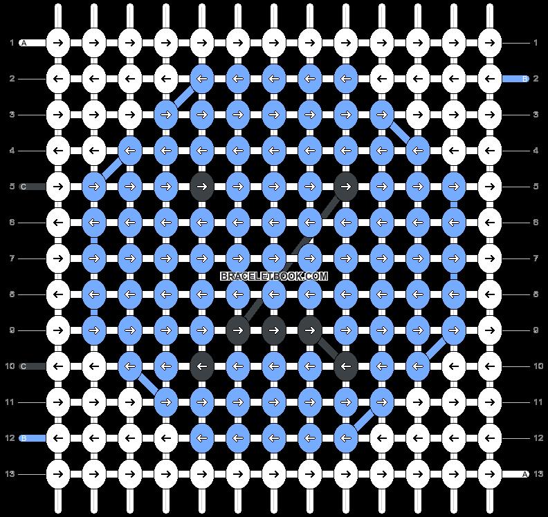Alpha pattern #61444 pattern