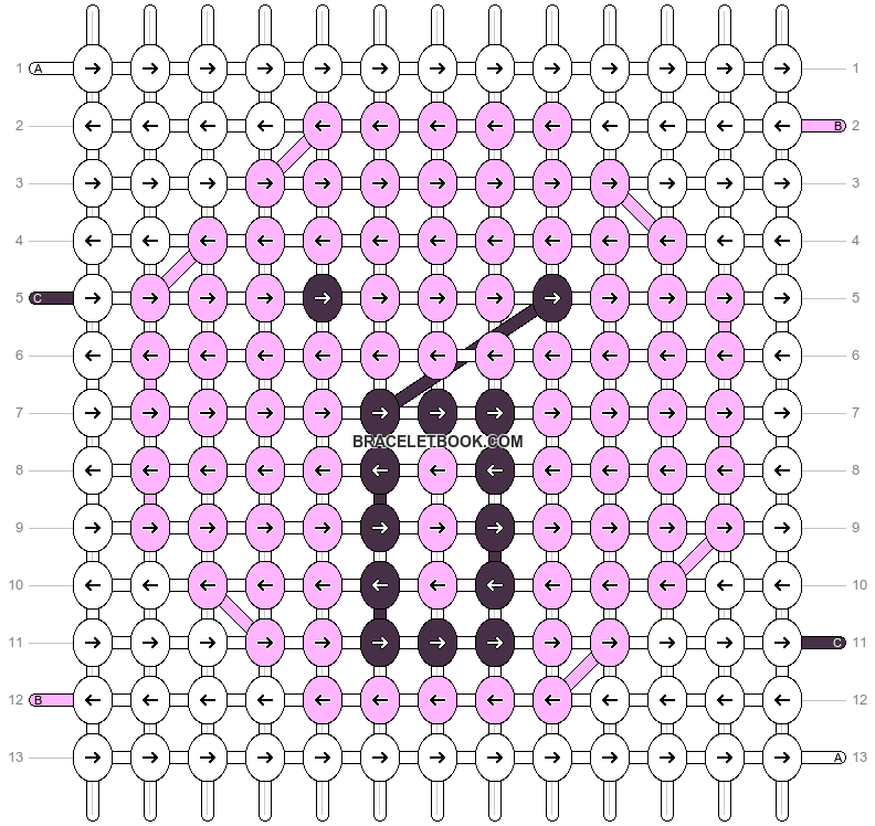 Alpha pattern #61448 pattern