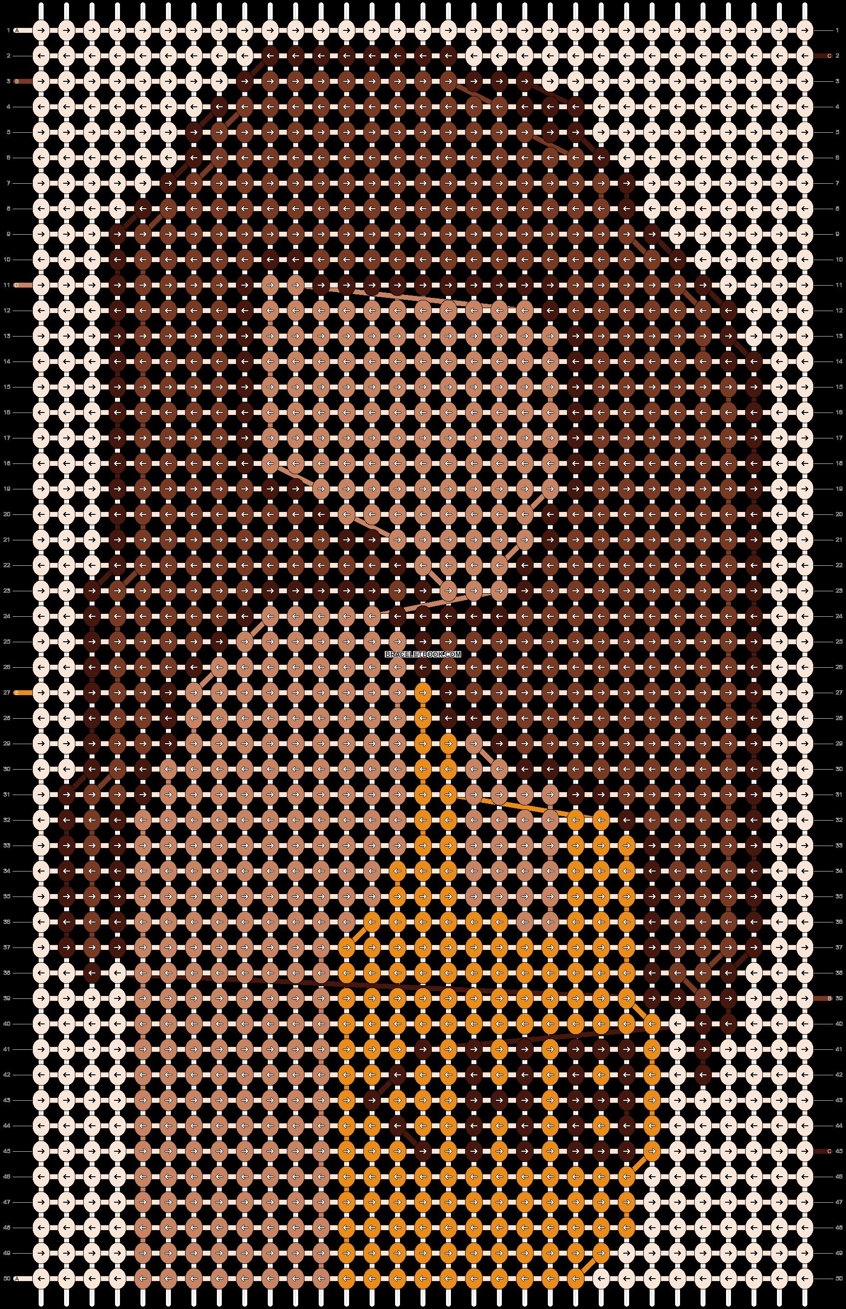 Alpha pattern #61464 pattern