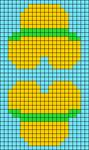 Alpha pattern #61490