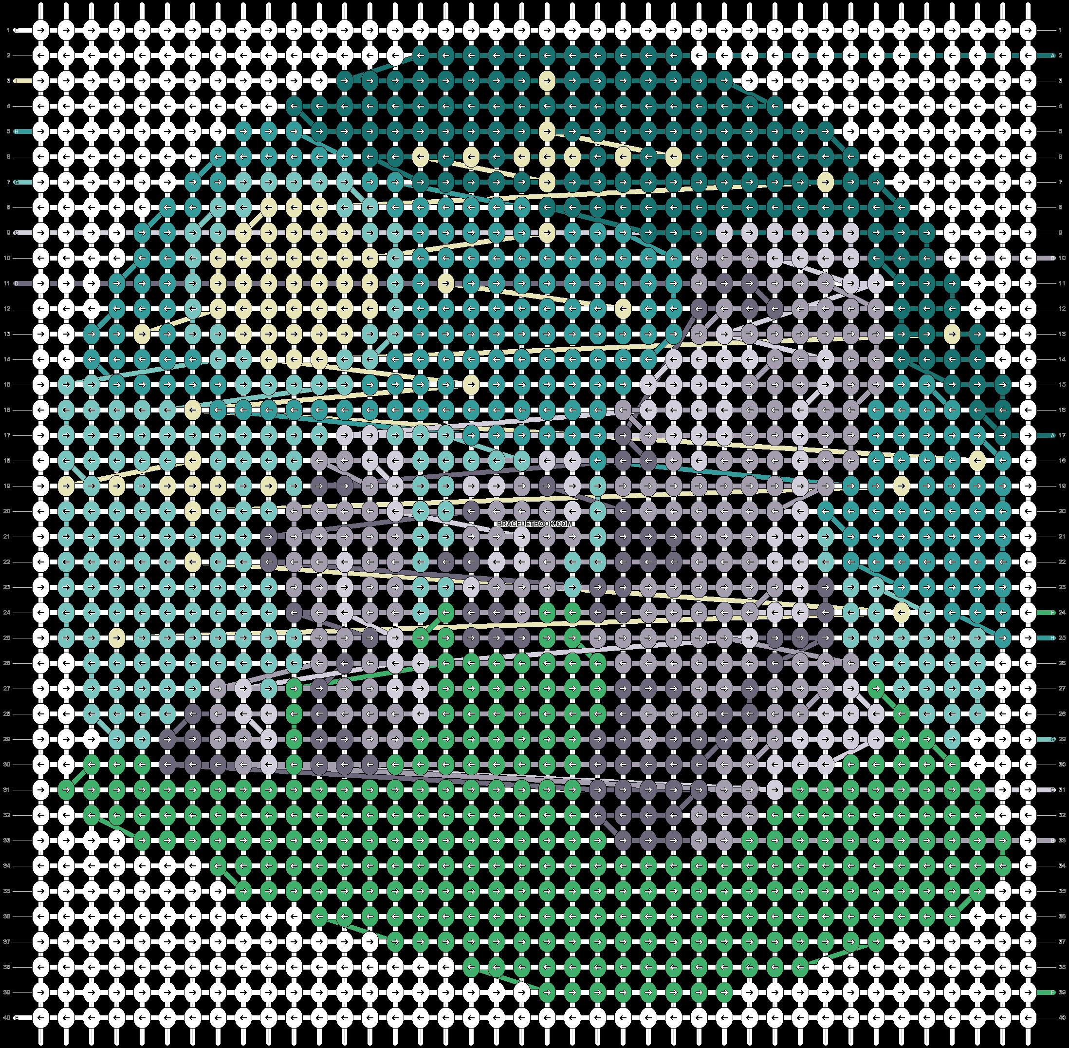 Alpha pattern #61498 pattern