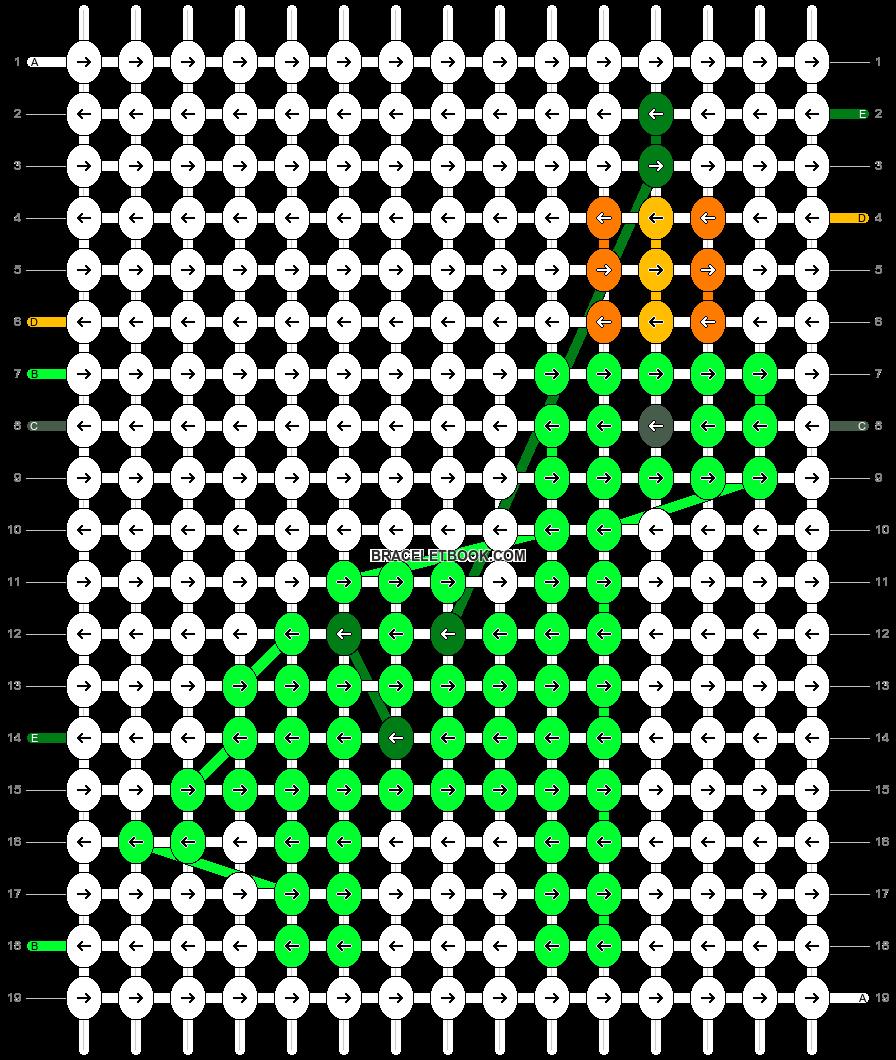 Alpha pattern #61551 pattern