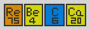 Alpha pattern #61569