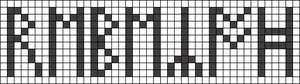 Alpha pattern #61571