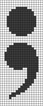 Alpha pattern #61580