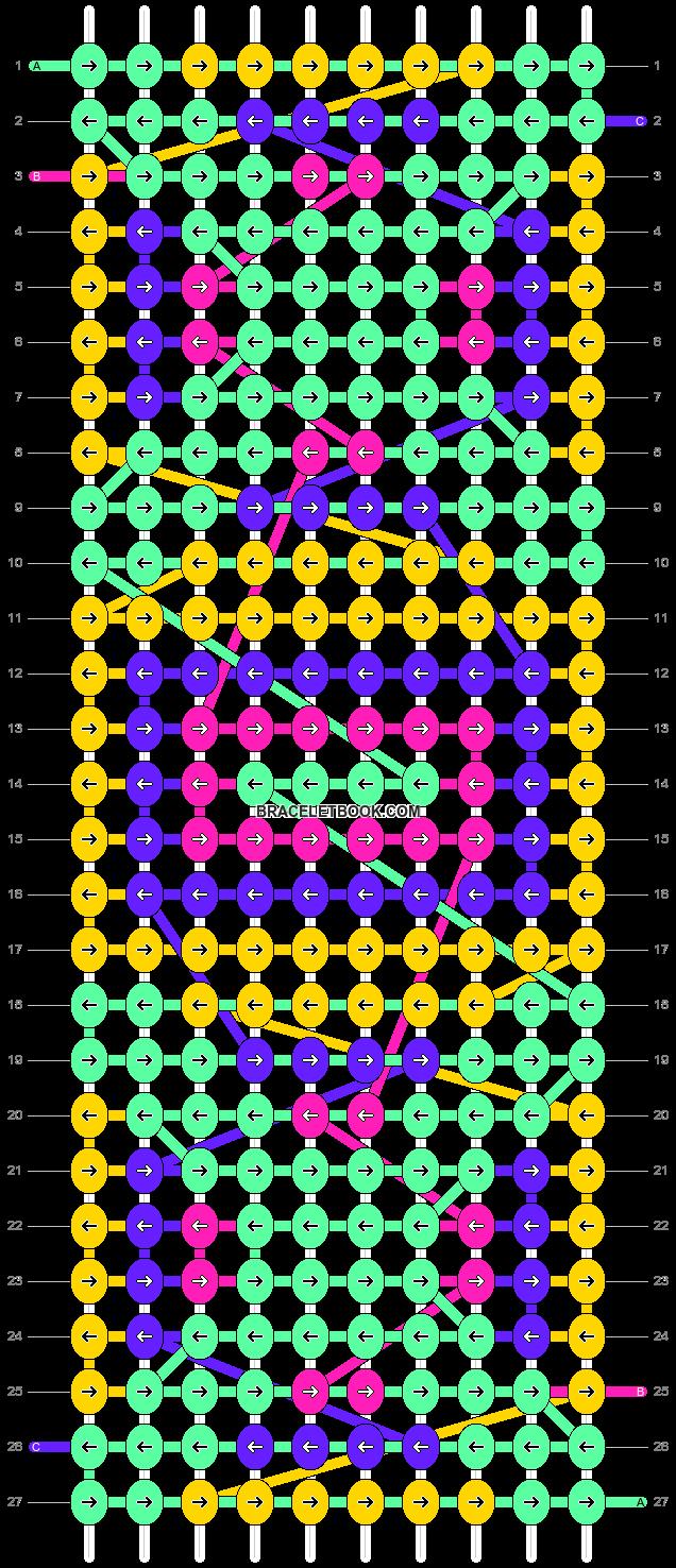 Alpha pattern #61585 pattern