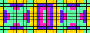 Alpha pattern #61585