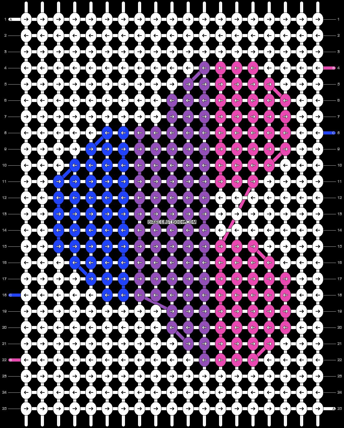 Alpha pattern #61594 pattern