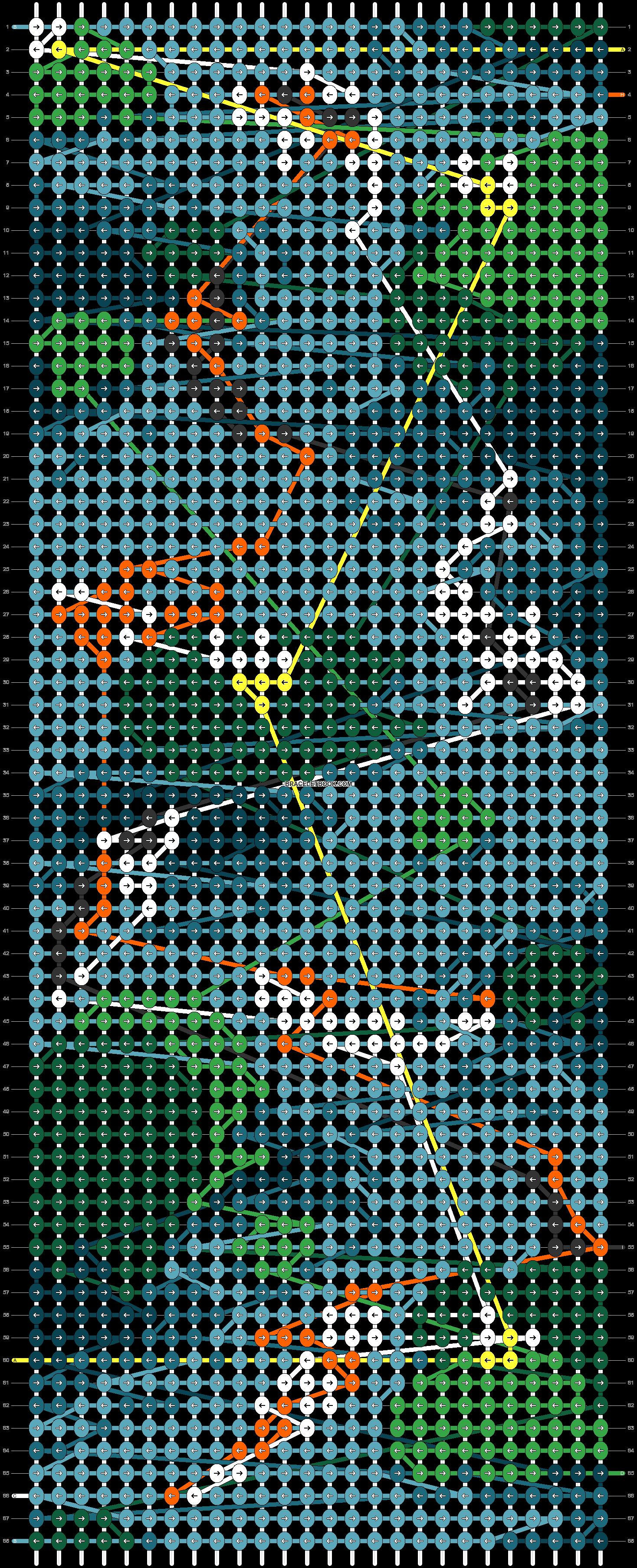 Alpha pattern #61606 pattern