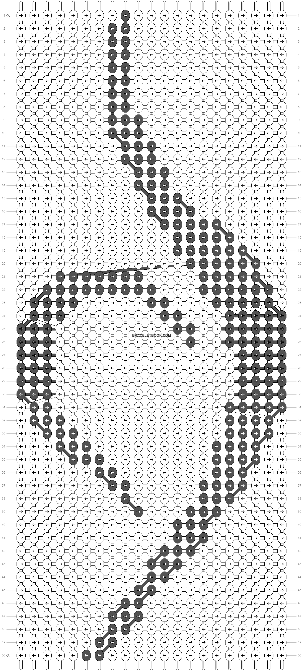 Alpha pattern #61612 pattern