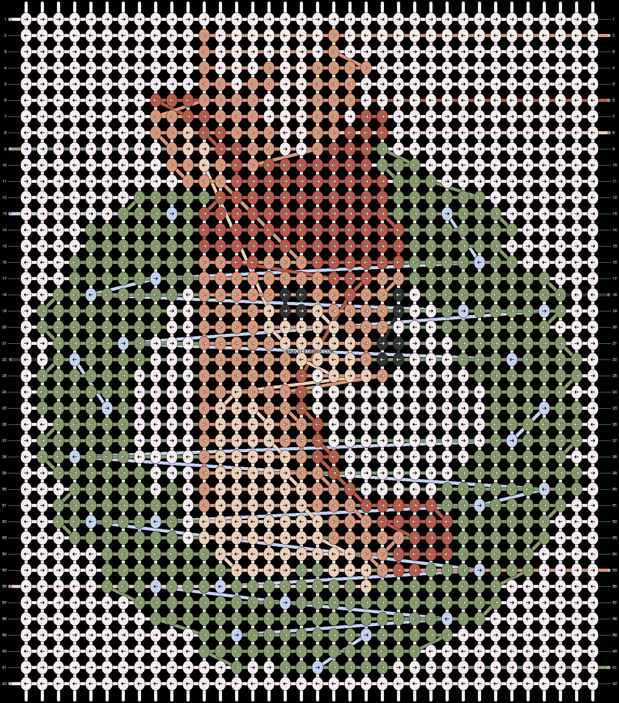 Alpha pattern #61622 pattern