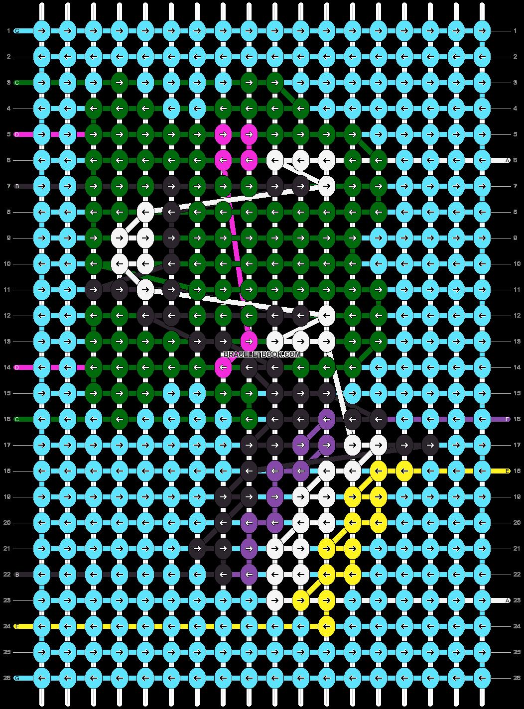 Alpha pattern #61625 pattern