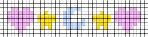 Alpha pattern #61633